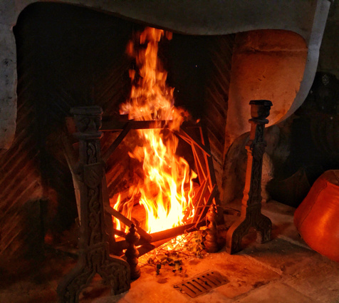 Ah l'incomparable chaleur d'un bon feu de châssis !