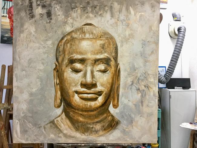 Mon premier Bouddha !
